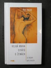 náhled knihy - Velká kniha citátů o ženách : a nejen pro muže