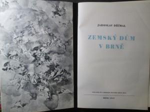 náhled knihy - Zemský dům v Brně