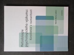 náhled knihy - Metodologie psychologického výzkumu : konsilience v rozmanitosti