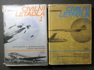 náhled knihy - Civilní letadla 1. a 2. díl