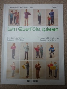 náhled knihy - Lern Queflote spielen