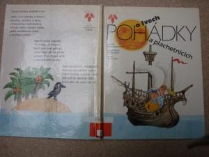 náhled knihy - Pohádky o lvech a plachetnicích : pro děti od 4 let
