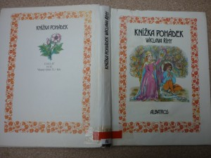 náhled knihy - Knížka pohádek Václava Říhy