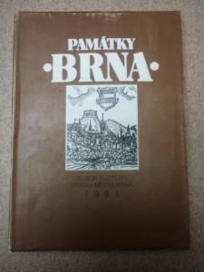 náhled knihy - památky Brna