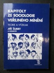 náhled knihy - Kapitoly ze sociologie veřejného mínění : teorie a výzkum