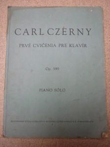 náhled knihy - Carl Czérny: prvé cvičenie pre klavír