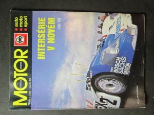 náhled knihy - Motor. Intersérie v novém (Příloha č.1/1986)