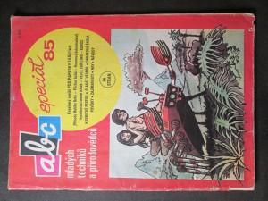 náhled knihy - ABC mladých techniků a přírodovědců. Speciál 85