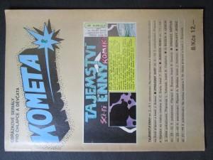náhled knihy - Kometa č. 8. Obrázkové seriály pro chlapce a děvčata