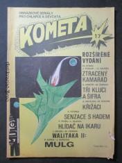 náhled knihy - Kometa č. 17. Obrázkové seriály pro chlapce a děvčata