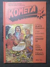náhled knihy - Kometa č. 19. Obrázkové seriály pro chlapce a děvčata