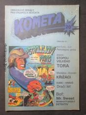 náhled knihy - Kometa č. 20. Obrázkové seriály pro chlapce a děvčata