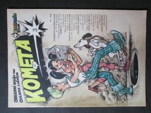 náhled knihy - Kometa č. 3. Obrazové seriály pro chlapce a děvčata
