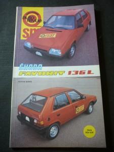 náhled knihy - svět motorů: auto revue,Škoda favorit 136L