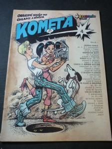 náhled knihy - Kometa č.4