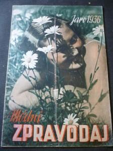 náhled knihy - Módní zpravodaj,jaro 1936
