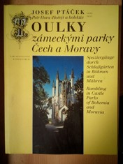 náhled knihy - Toulky zámeckými parky Čech a Moravy