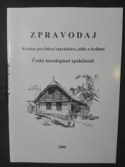 náhled knihy - Komise pro lidové stavitelství, sídla a bydlení České národopisné společnosti