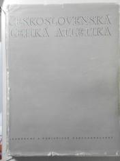náhled knihy - Československá lehká atletika