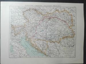 náhled knihy - Rakousko-Uhersko (politický přehled)