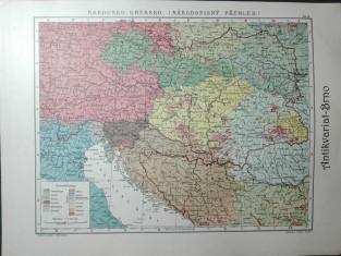 náhled knihy - Rakousko-Uhersko (národopisný přehled)
