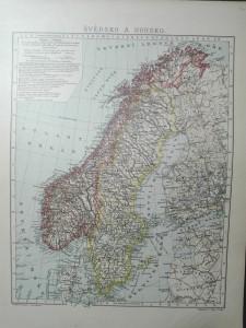náhled knihy - Švédsko a Norsko