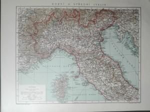 náhled knihy - Horní a střední Itálie