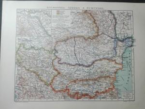 náhled knihy - Bulharsko, Srbsko a Rumunsko