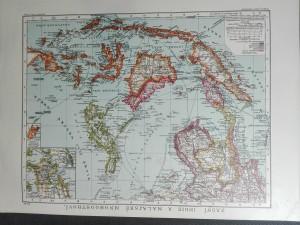 náhled knihy - Zadní Indie a Malajské mnohoostroví