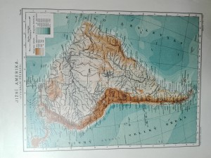 náhled knihy - Jižní Amerika (fysikální přehled)
