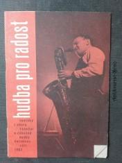 náhled knihy - Hudba pro radost - novinky z oboru taneční a zábavné hudby (červenec/září)