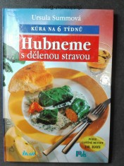 náhled knihy - Hubneme s dělenou stravou . Kúra na 6 týdnů