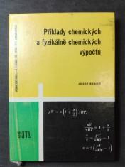 náhled knihy -  Příklady chemických a fyzikálně chemických výpočtů: pomocná kniha pro 1.-4. ročník průmyslových škol chemických