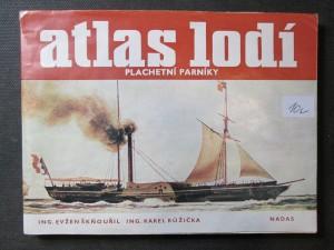 náhled knihy - Atlas lodí. Plachetní parníky