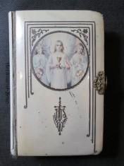 náhled knihy - K svátostné hostině. Modlitební kniha ke sv. přijímání pro osoby světské i řeholní