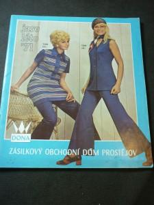 náhled knihy - Dona: zásilkový obchodní dům Prostějov jaro/léto 71