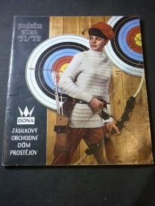 náhled knihy - Dona: zásilkový obchodní dům Prostějov podzim/zima 71/72