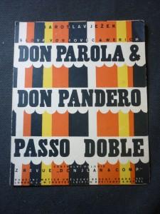 náhled knihy - Don Parola & Don Pandero passo doble