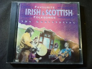 náhled knihy - favourite Irish & Scottish folksongs
