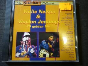 náhled knihy - Willie Nelson & Waylon Jennings 20 golden hits
