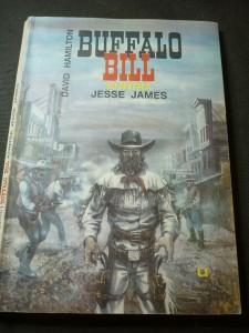 náhled knihy - Buffalo Bill kontra Jesse James