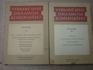 náhled knihy - vybrané spisy Jana Amose Komenského I.,II.