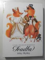 náhled knihy - Svadba líšky Ryšky