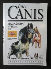 náhled knihy - Inter Canis. Mezinárodní výstava psů. 30. června - 1. července 2001