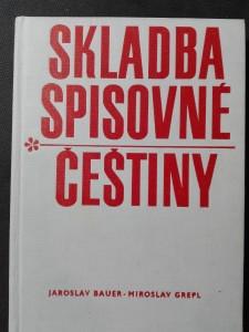 náhled knihy - Skladba spisovné češtiny