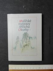 náhled knihy - Malířské rozpravy Mnicha Okurky