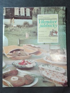 náhled knihy - Sešity domácího hospodaření - Víkendové jídelníčky (svazek 114)
