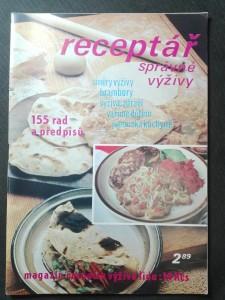 náhled knihy - Receptář správné výživy (magazín časopisu Výživa lidu)