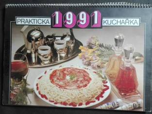 náhled knihy - Praktická kuchařka 1991