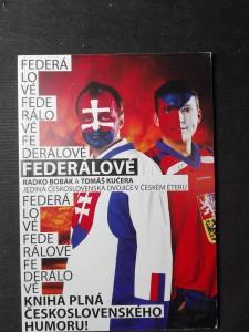 náhled knihy - Federálové: jediná československá dvojice moderátorů v českém éteru